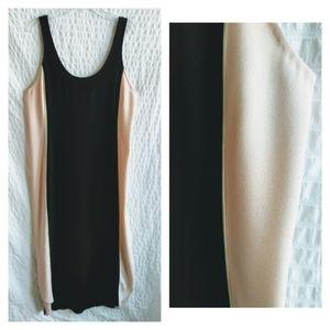 Aritzia Wilfred Colorblock Shift Dress
